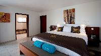 fresh bed sheets in Saint Barth Villa Bellevue luxury holiday home, vacation rental
