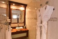 clean lavatory in Saint Barth Villa Bellevue luxury holiday home, vacation rental