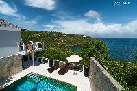 breathtaking view from Saint Barth Villa Bellevue luxury holiday home, vacation rental