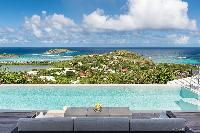 nifty pool of Saint Barth Villa Iris luxury holiday home, vacation rental