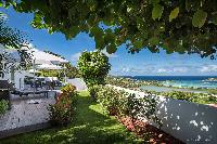 incredible garden of Saint Barth Villa Iris luxury holiday home, vacation rental