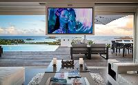 fun waterfront Saint Barth Villa Iris luxury holiday home, vacation rental