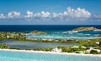 awesome sea view from Saint Barth Villa Iris luxury holiday home, vacation rental