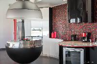 modern kitchen appliances in Saint Barth Villa Iris luxury holiday home, vacation rental