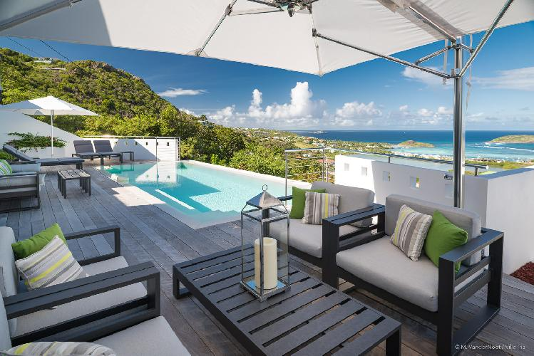 picture-perfect Saint Barth Villa Iris luxury holiday home, vacation rental