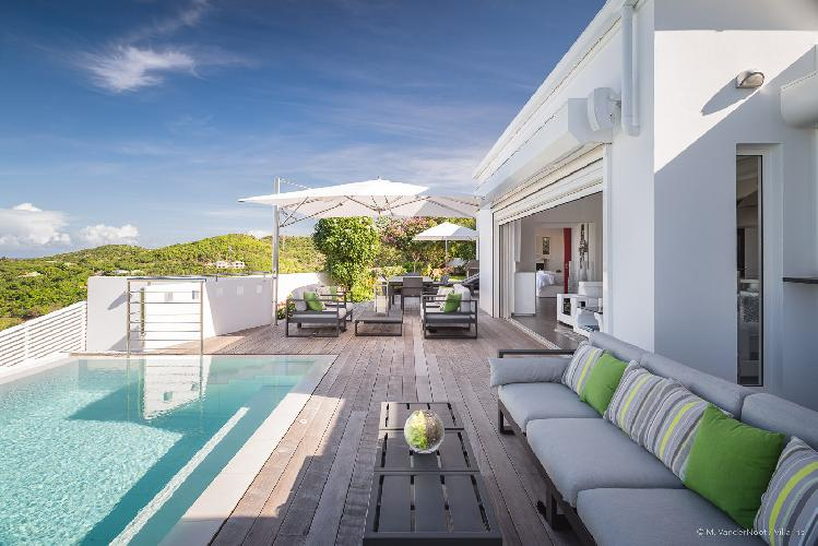 beautiful Saint Barth Villa Iris luxury holiday home, vacation rental