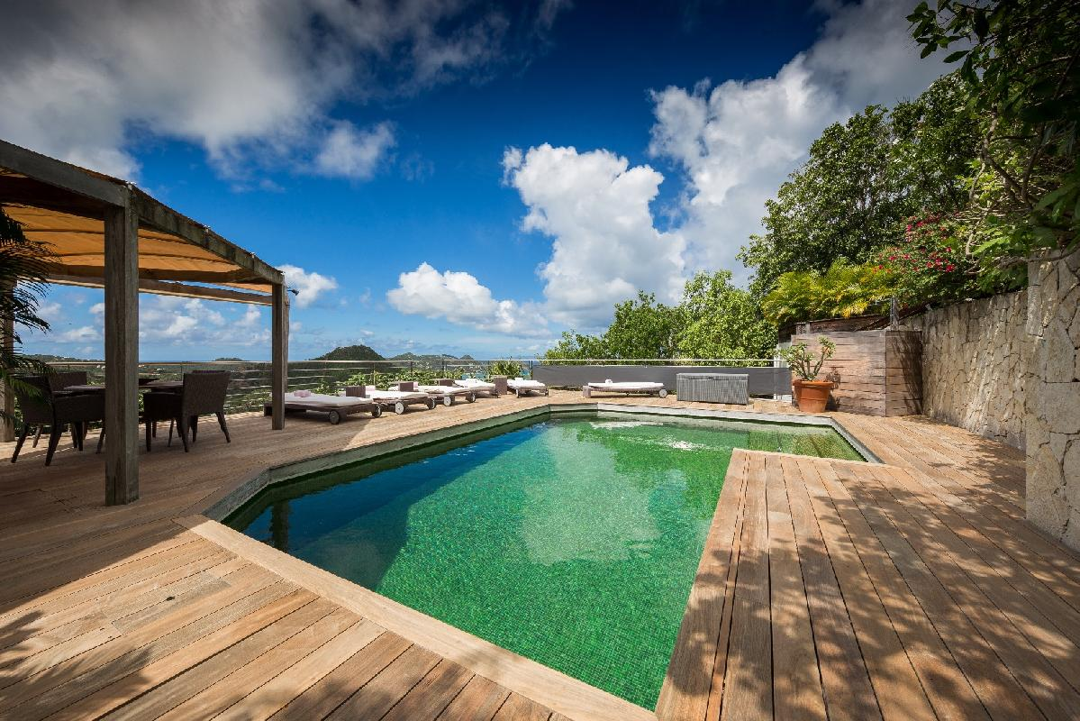 beautiful Saint Barth Villa Mapou luxury holiday home, vacation rental