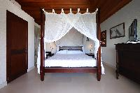clean bedroom linens in Saint Barth Villa Mapou luxury holiday home, vacation rental