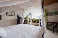 clean bed sheets in Saint Barth Villa Mapou luxury holiday home, vacation rental