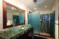 clean bathroom in Saint Barth Villa Mapou luxury holiday home, vacation rental