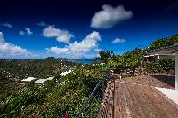 magnificent view from Saint Barth Villa Mapou luxury holiday home, vacation rental