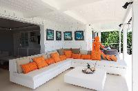 cool patio of Saint Barth Villa Mapou luxury holiday home, vacation rental