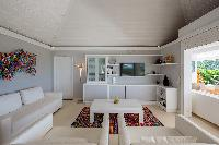 delightful living room of Saint Barth Villa Mapou luxury holiday home, vacation rental