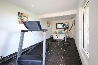 cool gym of Saint Barth Villa Mapou luxury holiday home, vacation rental