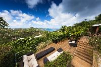 amazing view from Saint Barth Villa Mapou luxury holiday home, vacation rental
