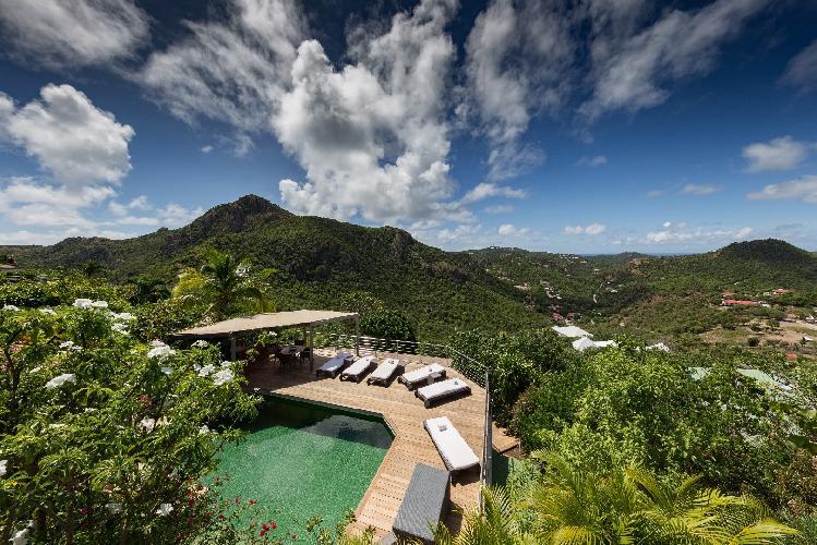 breathtaking Saint Barth Villa Mapou luxury holiday home, vacation rental