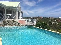 cool swimming pool of Saint Barth Villa Milonga luxury holiday home, vacation rental