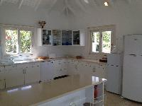 modern kitchen appliances in Saint Barth Villa Milonga luxury holiday home, vacation rental