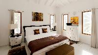 crisp bed sheets in Saint Barth Villa Panorama luxury holiday home, vacation rental