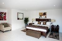 clean bedroom linens in Saint Barth Villa Panorama luxury holiday home, vacation rental