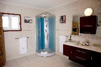 neat and fresh bathroom in Saint Barth Villa Panorama luxury holiday home, vacation rental