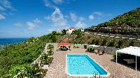 cool hillside Saint Barth Villa Panorama luxury holiday home, vacation rental