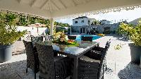 cool lanai of Saint Barth Villa Panorama luxury holiday home, vacation rental