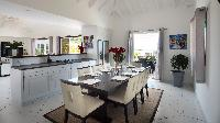 cool kitchen of Saint Barth Villa Panorama luxury holiday home, vacation rental