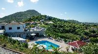 beautiful hillside Saint Barth Villa Panorama luxury holiday home, vacation rental