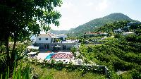 lush garden of Saint Barth Villa Panorama luxury holiday home, vacation rental