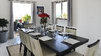 pleasant dining room of Saint Barth Villa Panorama luxury holiday home, vacation rental