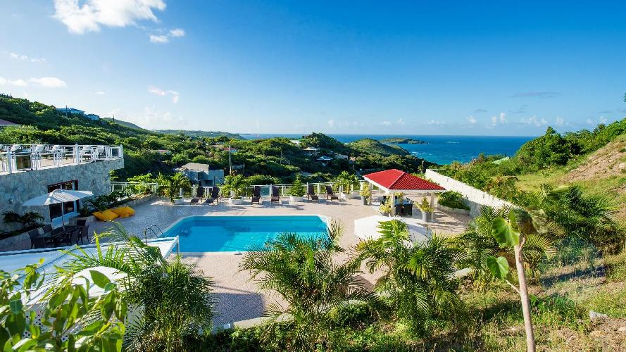 amazing Saint Barth Villa Panorama luxury holiday home, vacation rental