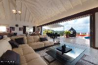 bright and breezy Saint Barth Villa Rising Sun holiday home, luxury vacation rental