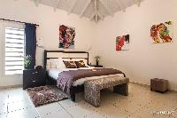 pleasant bedroom in Saint Barth Villa Rising Sun holiday home, luxury vacation rental