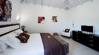 fresh bed sheets in Saint Barth Villa Rising Sun holiday home, luxury vacation rental