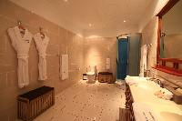 amazing bathroom in Saint Barth Villa Rising Sun holiday home, luxury vacation rental