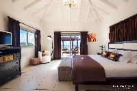 lovely bedroom in Saint Barth Villa Rising Sun holiday home, luxury vacation rental