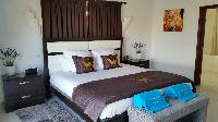 clean bedroom linens in Saint Barth Villa Rising Sun holiday home, luxury vacation rental