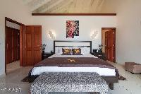 clean bed sheets in Saint Barth Villa Rising Sun holiday home, luxury vacation rental