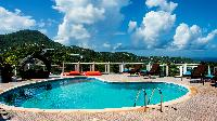 cool swimming pool of Saint Barth Villa Rising Sun holiday home, luxury vacation rental