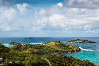 awesome view from Saint Barth Villa Rising Sun holiday home, luxury vacation rental