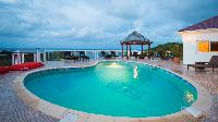 refreshing pool of Saint Barth Villa Rising Sun holiday home, luxury vacation rental