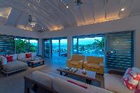beautiful waterfront Saint Barth Villa Sereno 2 luxury holiday home, vacation rental