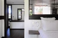neat bathroom in Saint Barth Villa Dunes luxury holiday home, vacation rental