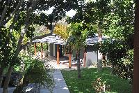 lovely garden of Saint Barth Villa Dunes luxury holiday home, vacation rental