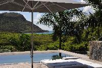 cool cabana at Saint Barth Villa Dunes luxury holiday home, vacation rental