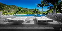 beautiful mountainside Saint Barth Villa Dunes luxury holiday home, vacation rental