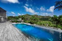 amazing pool of Saint Barth Villa Dunes luxury holiday home, vacation rental
