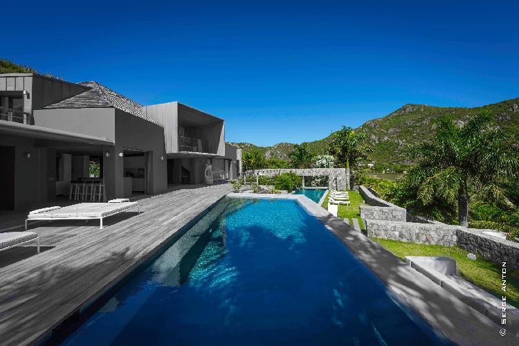beautiful Saint Barth Villa Dunes luxury holiday home, vacation rental