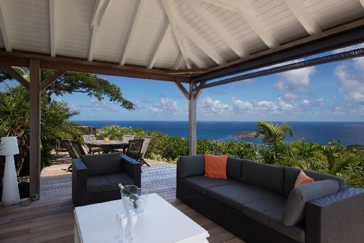 beautiful Saint Barth Villa Manonjul 1 luxury holiday home, vacation rental